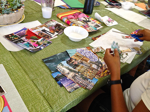 Creating with Pictures and Words Retreat