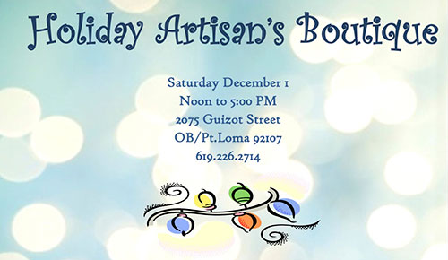 Holiday Artisan's Boutique