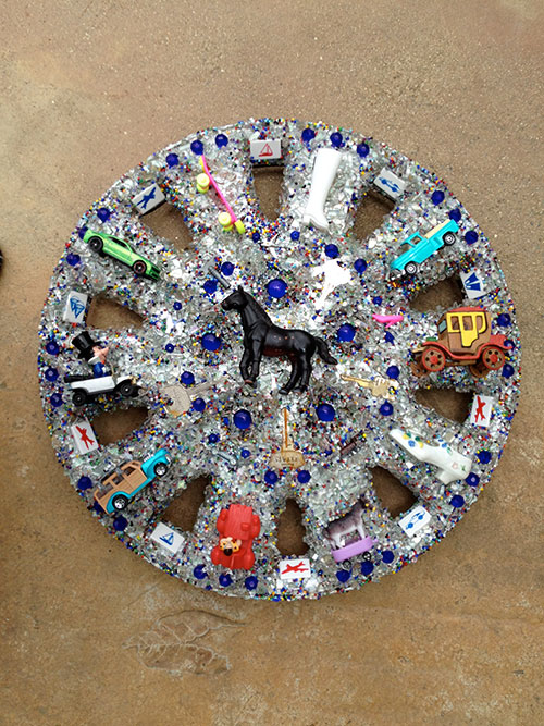 Why I Picked Up a Hubcap from Boulder Creek Road