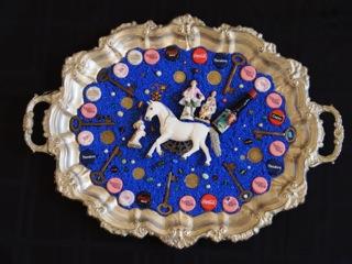 Blue Danube Waltz Mosaic