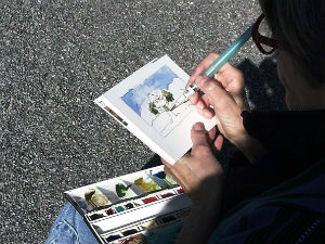 Sketching and Watercolor in Nature
