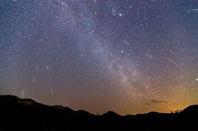Meteor Show Poem