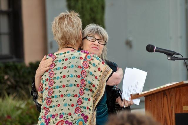 JR & Jill hugs